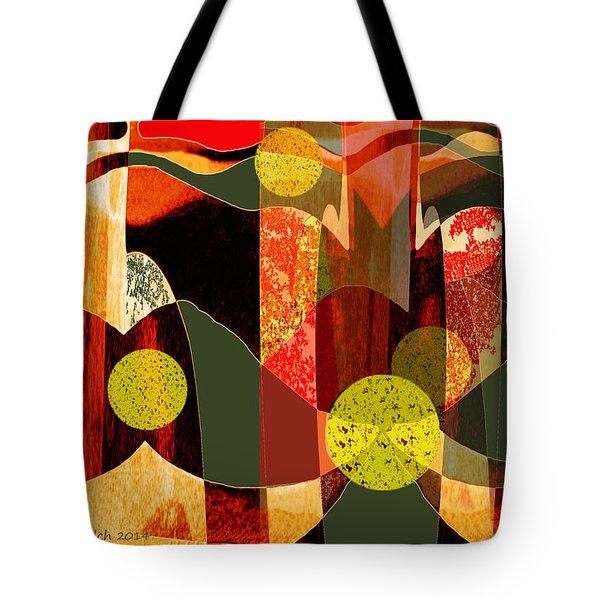 807 - Walk Through The Autumn Forest Tote Bag