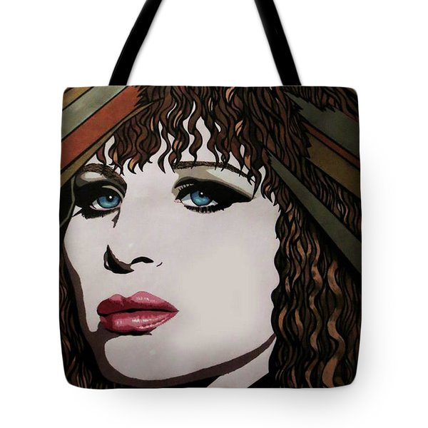 80's Barbra Tote Bag
