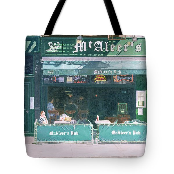 80th And Amsterdam Avenue Tote Bag by Anthony Butera