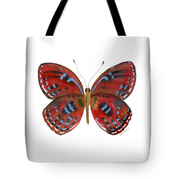 81 Paralaxita Butterfly Tote Bag