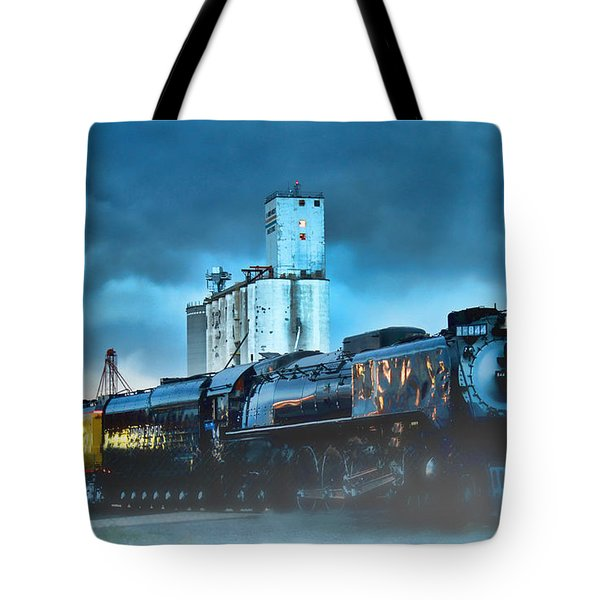 844 Night Train Tote Bag