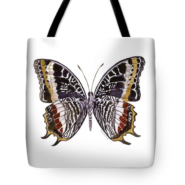 88 Castor Butterfly Tote Bag