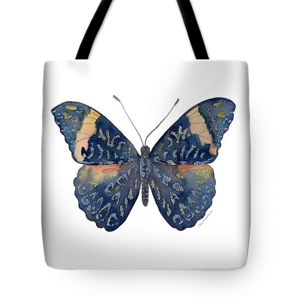 89 Red Cracker Butterfly Tote Bag
