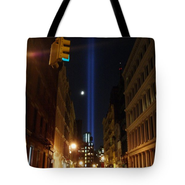 9-11-2013 Nyc Tote Bag by Jean luc Comperat