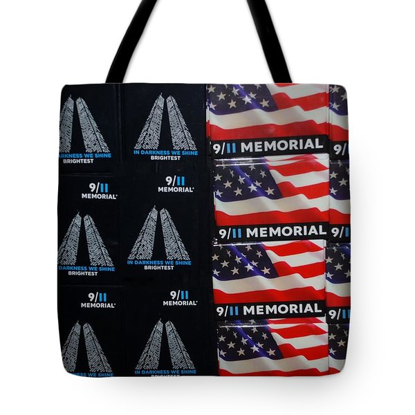 9/11 Memorial For Sale Tote Bag by Rob Hans