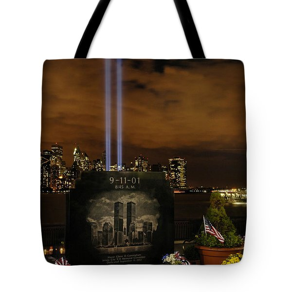 9-11 Monument Tote Bag