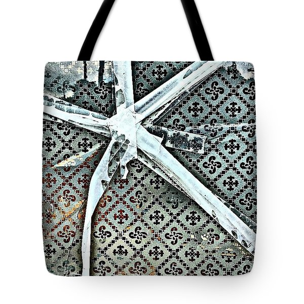 Broken Window Tote Bag by Jason Michael Roust