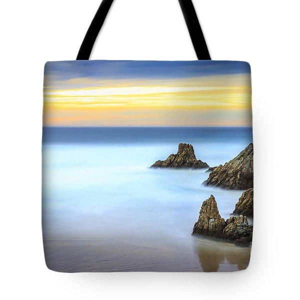 Campelo Beach Galicia Spain Tote Bag