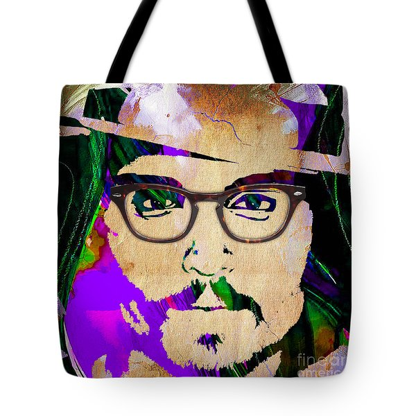 Johnny Depp Collection Tote Bag by Marvin Blaine