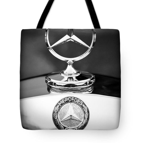 Mercedes-benz Hood Ornament Tote Bag