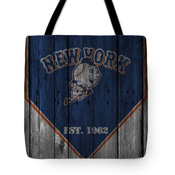 New York Mets Tote Bag