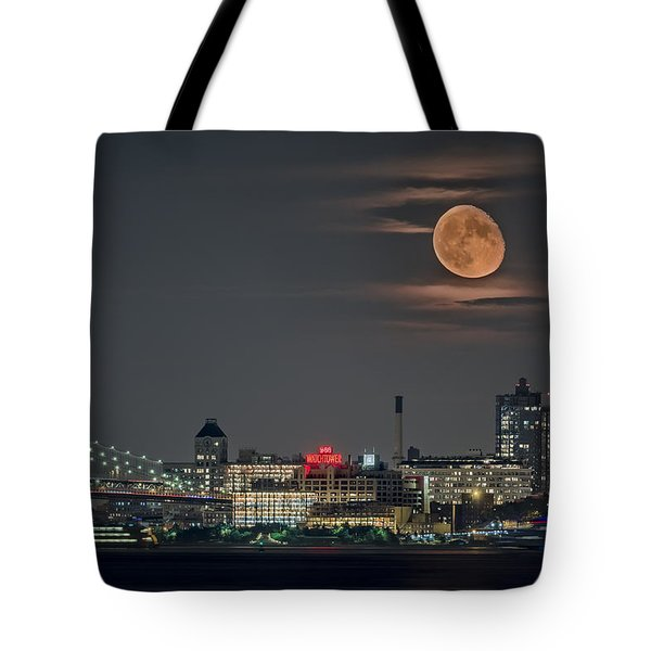 9 O'clock Tote Bag by Eduard Moldoveanu