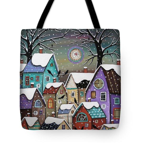9 Pm Tote Bag