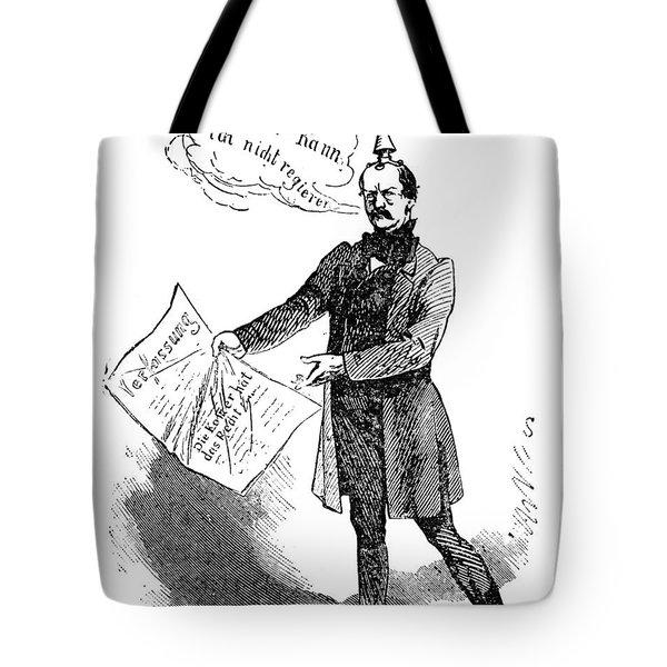 Prince Otto Von Bismarck  Tote Bag by Granger