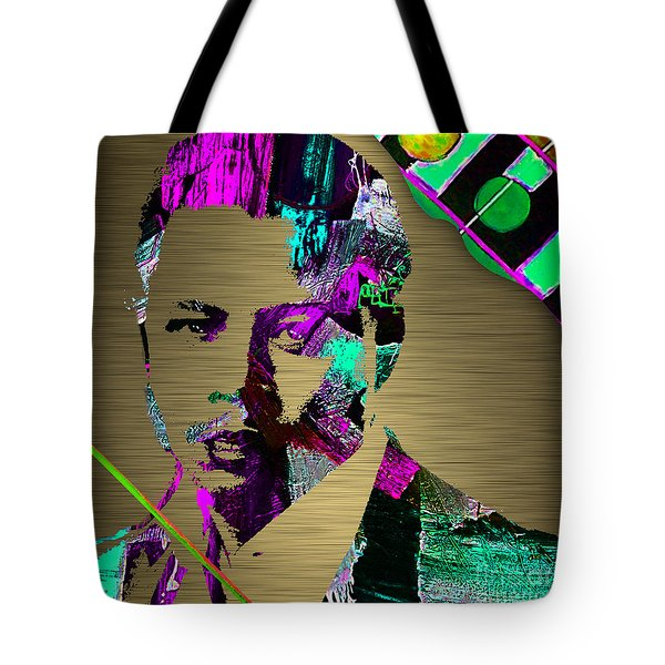 Terrence Howard Collection Tote Bag by Marvin Blaine