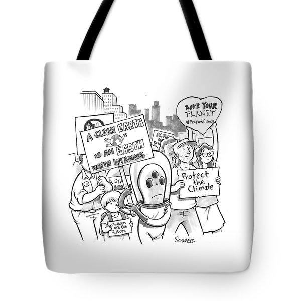 New Yorker September 19th, 2014 Tote Bag