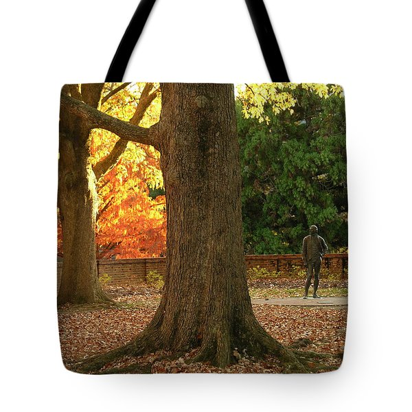 William And Mary College Tote Bag by Jacqueline M Lewis