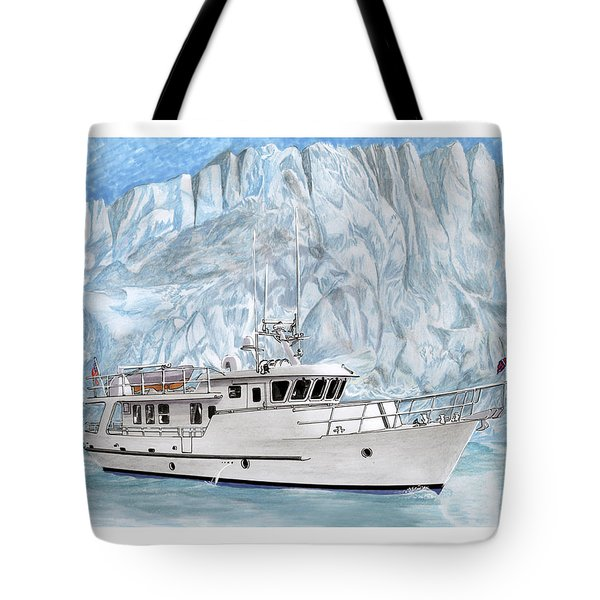 Its Cold As Ice Its Paridise Tote Bag