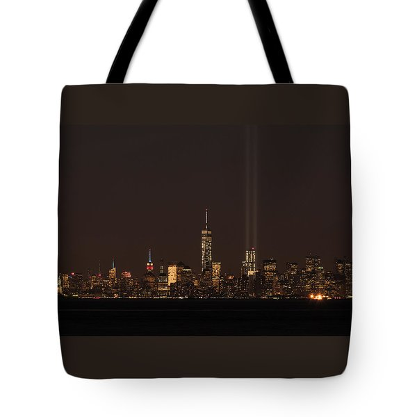 9.11.2014  View From Staten Island Tote Bag