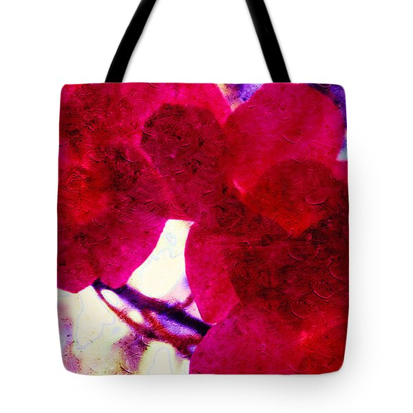 The Red Orchids  Tote Bag