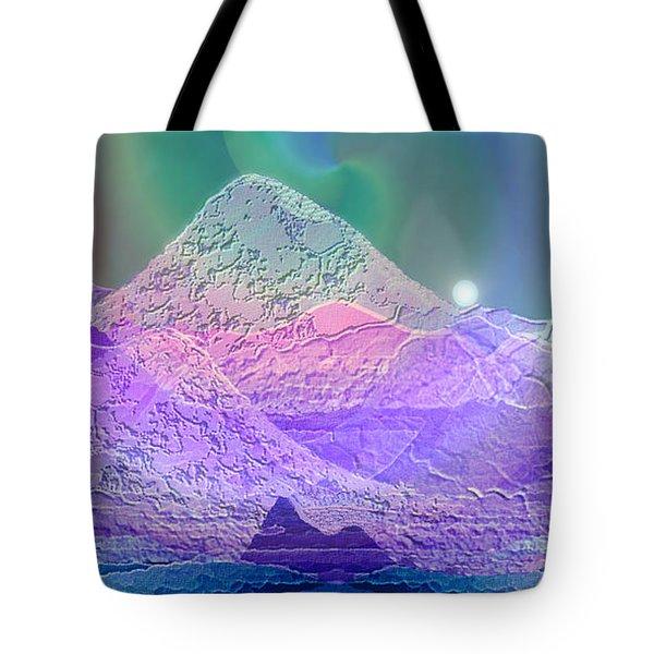 939 - Magic Mood  Mountain World Tote Bag