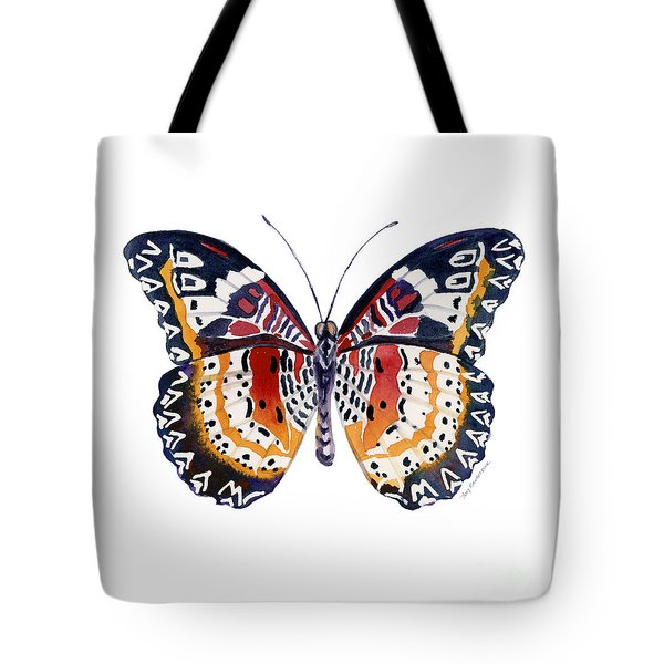 94 Lacewing Butterfly Tote Bag
