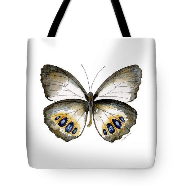 95 Palmfly Butterfly Tote Bag