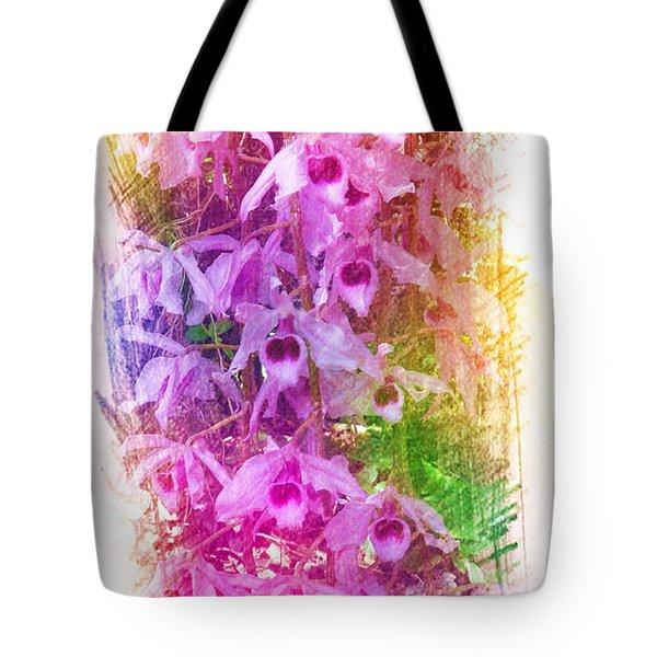 Fantastic Orchids Tote Bag