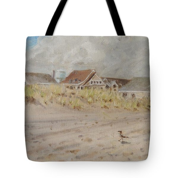 98th Street Beach Stone Harbor New Jersey Tote Bag by Patty Kay Hall