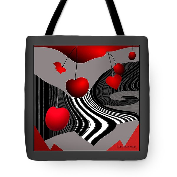 997 -   Deco Cherry     Tote Bag