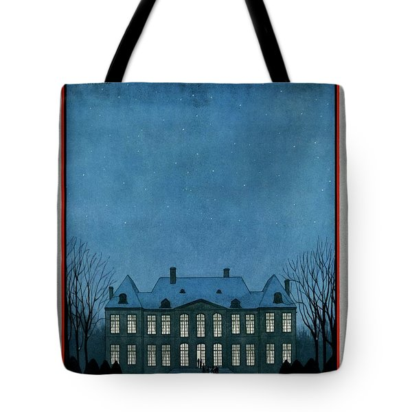 A 17th Century French Chateau Tote Bag