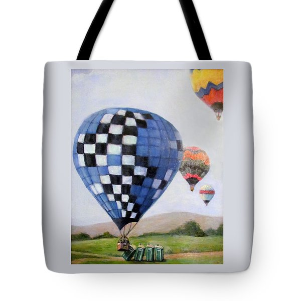 A Balloon Disaster Tote Bag