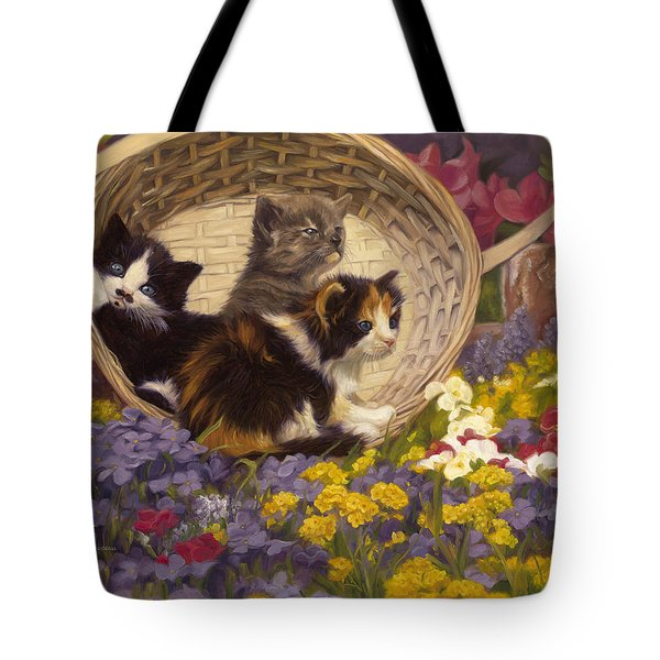 A Basket Of Cuteness Tote Bag