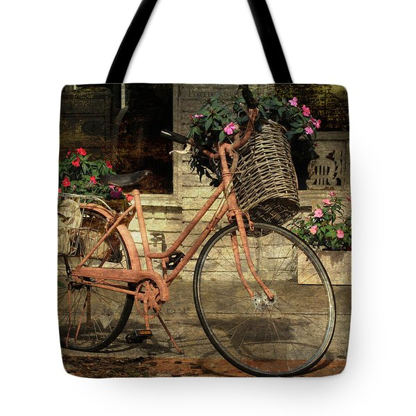 A Basketful Of Spring Tote Bag