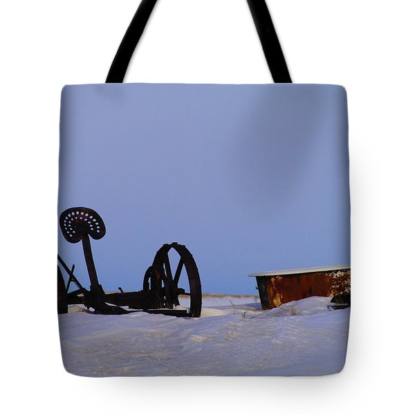 A Bath After Harvest Tote Bag by Jeff Swan