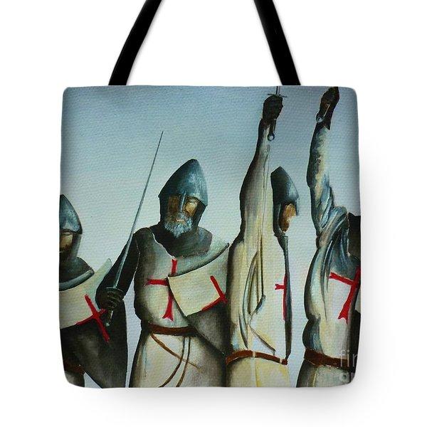 A Battle Won Tote Bag