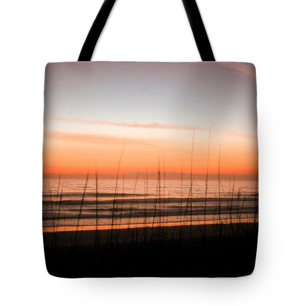 A Beachwork Orange Tote Bag