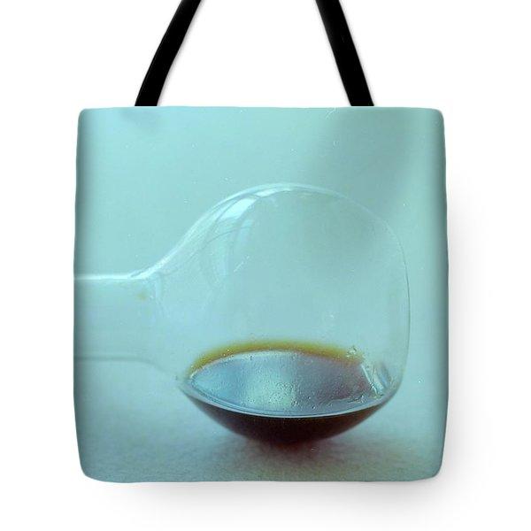 A Beaker With Vinegar Tote Bag