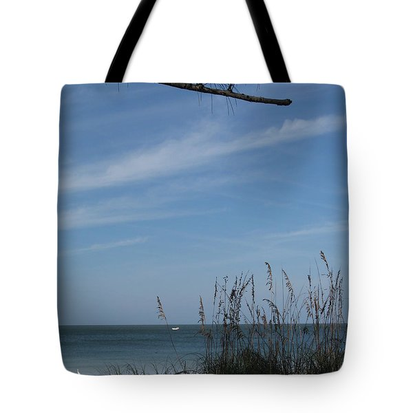 A Beautiful Day At A Florida Beach Tote Bag by Christiane Schulze Art And Photography