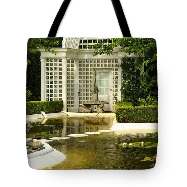 A Beautiful Place To Sit Tote Bag