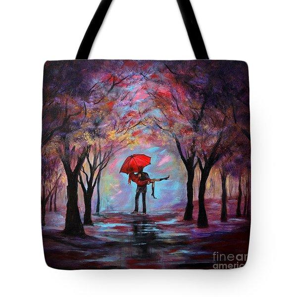A Beautiful Romance Tote Bag
