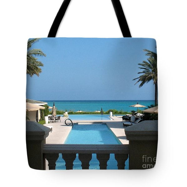 A Beautiful View Tote Bag by Patti Whitten