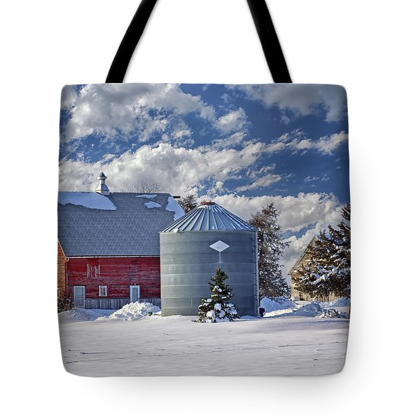 A Beautiful Winter Day Tote Bag