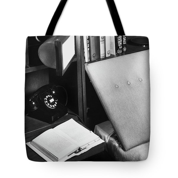 A Bed And A Open Book Tote Bag