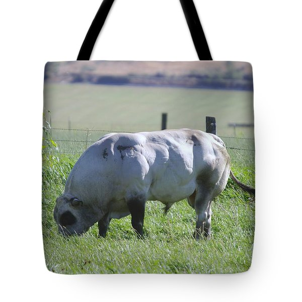 A Big Big Bull  Tote Bag by Jeff Swan