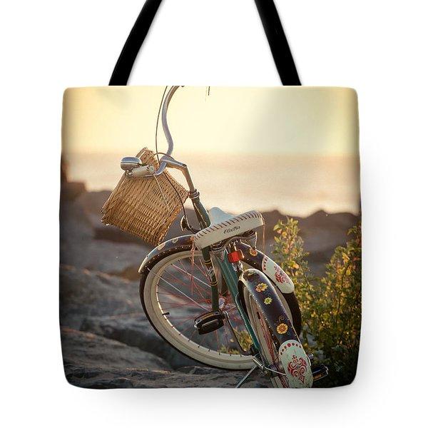 A Bike And Chi Tote Bag