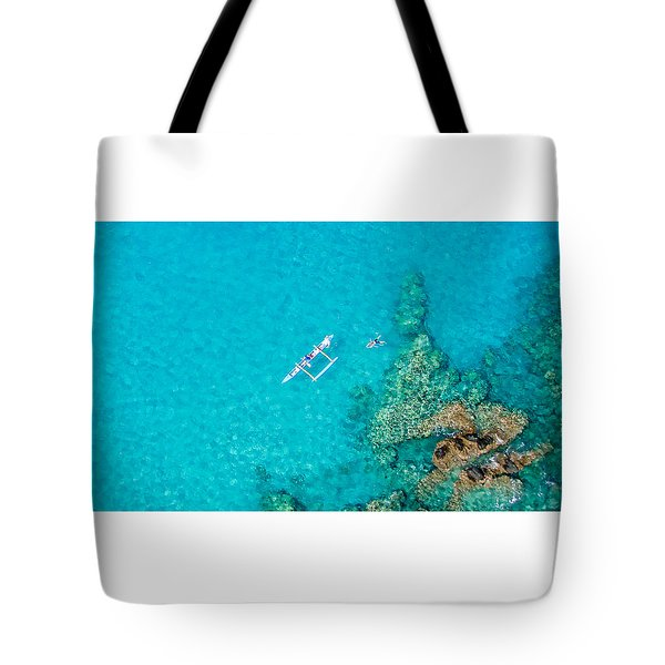 A Bird's Eye View Tote Bag