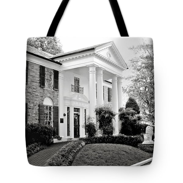 A Bit Of Graceland Tote Bag by Julie Palencia