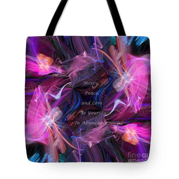 Tote Bag featuring the digital art A Blessing by Margie Chapman
