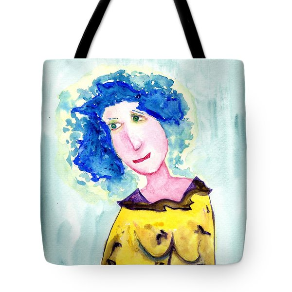A Blue Day Tote Bag